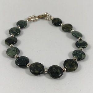 Vintage Gemstone Bracelet, Vintage Jewelry
